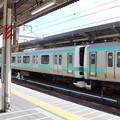 常磐快速線 E231系 上野駅停車中