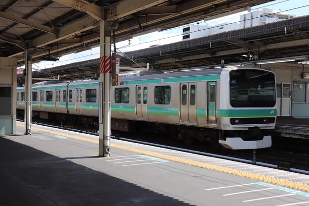 Photos: 常磐快速線 E231系 上野駅発車