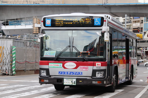 東急バス T1533
