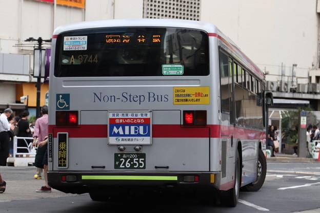 東急バス A8744 リア側