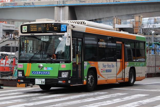 都営バス D-B726