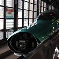 Photos: 北海道新幹線 H5系H1編成 連結カバー開・連結準備