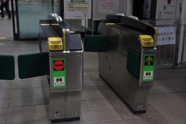 新函館北斗駅 在来線 自動改札機