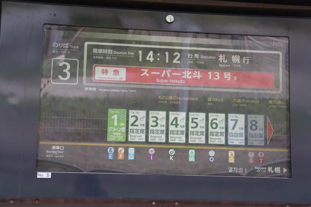 函館本線 新函館北斗駅 構内