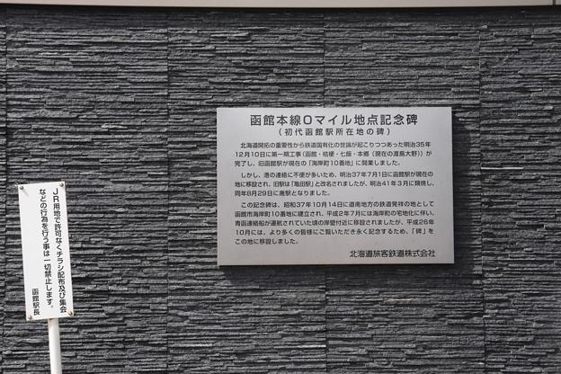 函館駅 看板