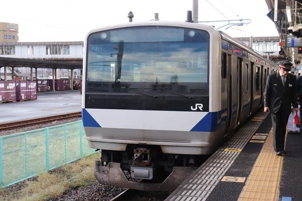 常磐線 E531系K411編成 334M 普通 上野 行 2019.10.26