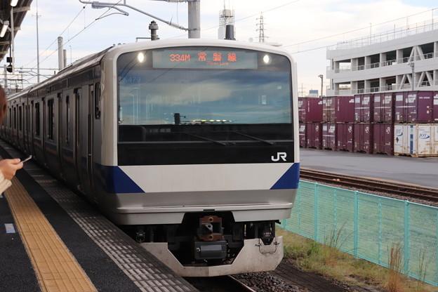 常磐線 E531系K479編成 334M 普通 上野 行 2019.10.26