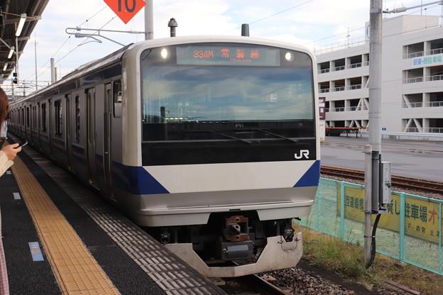 常磐線 E531系K479編成 334M 普通 上野 行 2019.10.26 (1)
