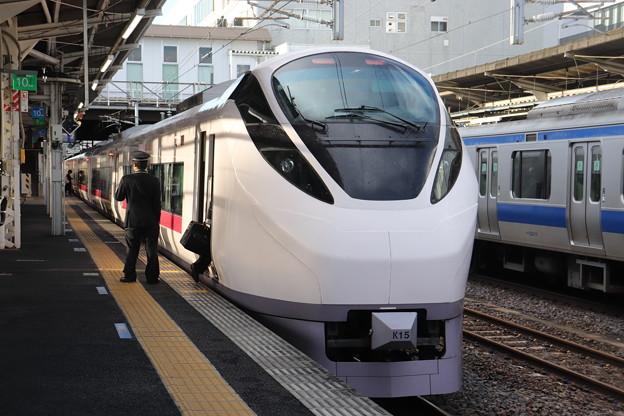 常磐線 E657系K15編成 58M 特急ときわ58号 品川 行 2019.10.26