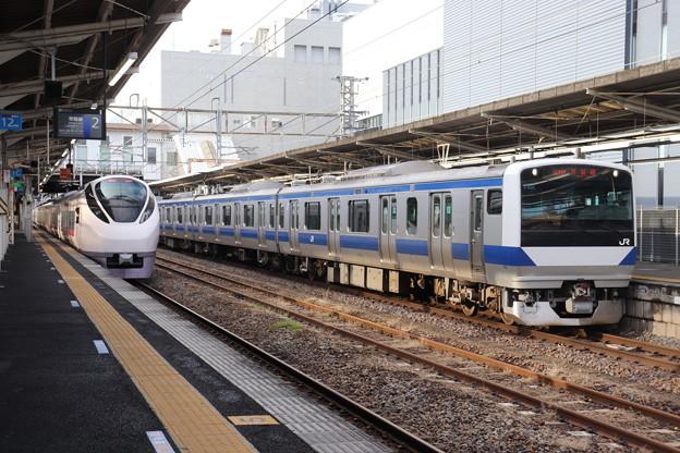 常磐線 E657系K15編成・E531系K406編成 2019.10.26