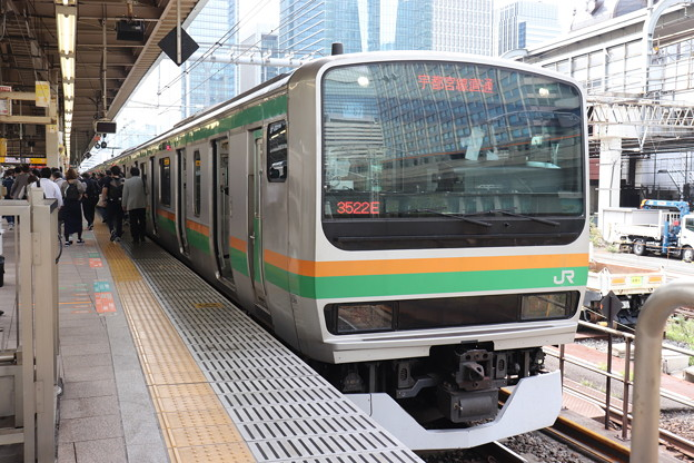 上野東京ライン E231系1000番台U67編成