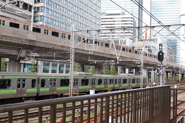 中央線E233系・山手線E231系500番台