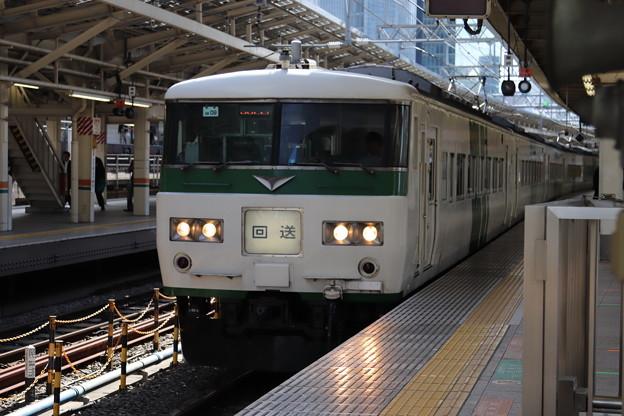 東海道線 185系200番台OM09編成