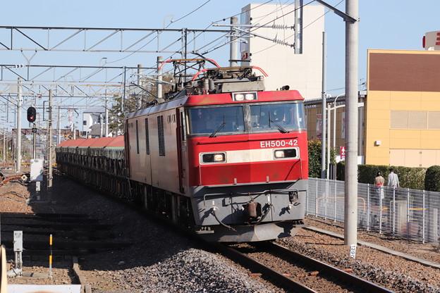 常磐線 安中貨物 5094レ EH500-42牽引 2019.11.09 (5)