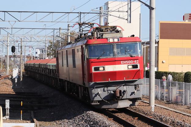 常磐線 安中貨物 5094レ EH500-42牽引 2019.11.09 (6)