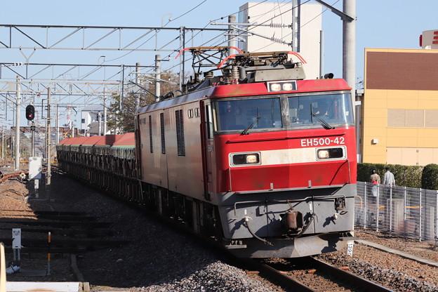 常磐線 安中貨物 5094レ EH500-42牽引 2019.11.09 (7)