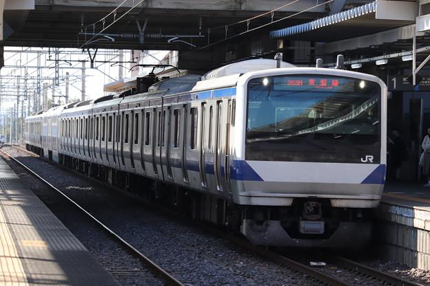 常磐線 E531系K410編成 363M 普通 勝田 行 2019.11.09