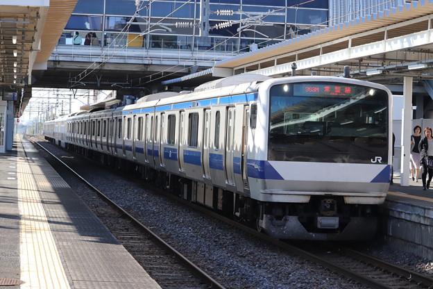 常磐線 E531系K410編成 363M 普通 勝田 行 2019.11.09 (1)