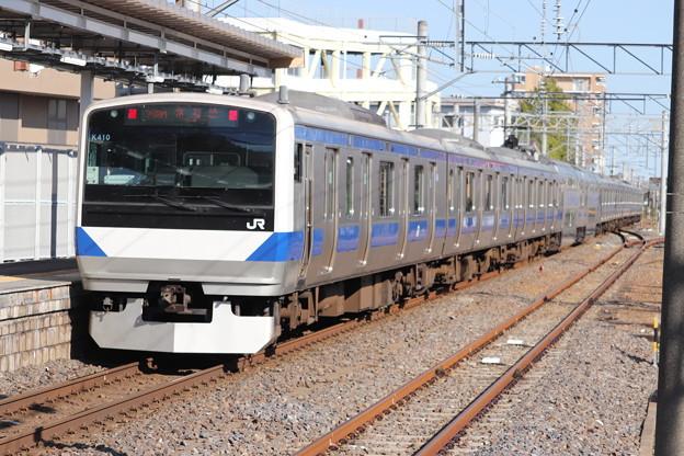 常磐線 E531系K410編成 363M 普通 勝田 行 後追い 2019.11.09
