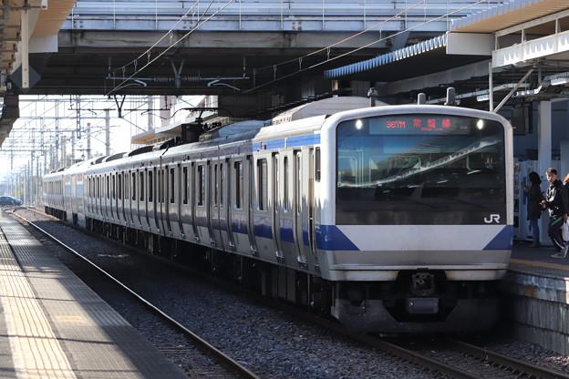 常磐線 E531系K405編成 367M 普通 勝田 行 2019.11.09