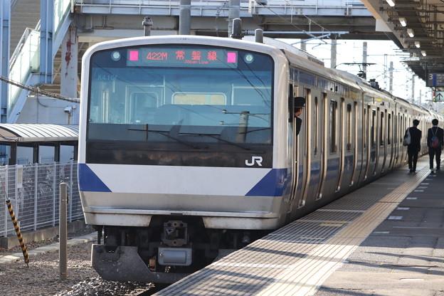 常磐線 E531系K410編成 422M 普通 上野 行 後追い 2019.11.09