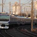 常磐線 E531系K412編成 387M 普通 水戸 行 2019.11.09 (1)