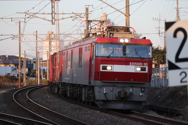 Photos: 常磐線 2094レ EH500-10牽引 2019.11.09 (16)
