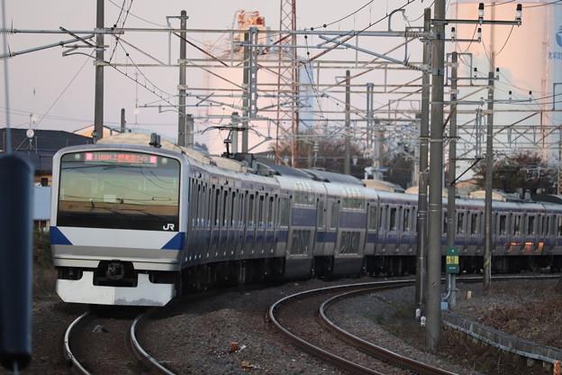 常磐線 E531系K402編成 1189M 普通 勝田 行 2019.11.09 (1)