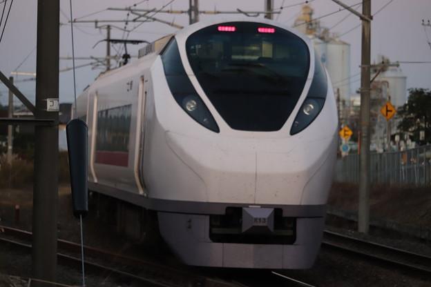 常磐線 E657系K13編成 67M 特急ときわ67号 勝田 行 2019.11.09