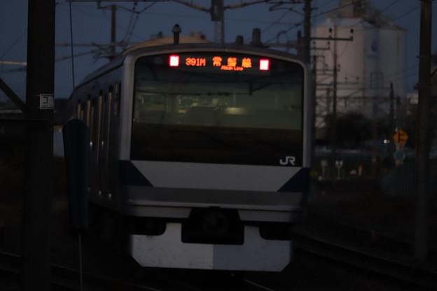 常磐線 E531系 391M 普通 水戸 行 2019.11.09