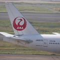 Photos: 日本航空 JAL B777-200 尾翼部分