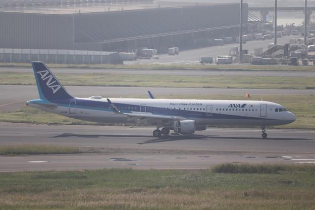 全日空 ANA A321-200N JA114A