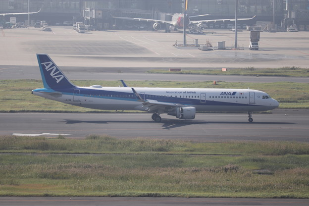 全日空 ANA A321-200N JA114A (1)