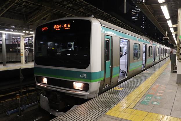 上野東京ライン E231系マト139編成