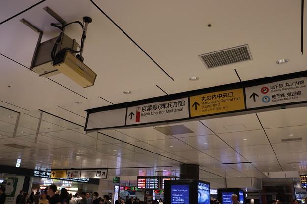 東京駅改札内コンコース