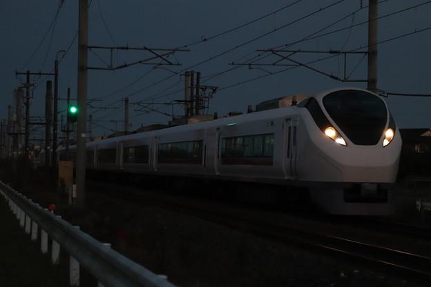 日没後のE657系 2019.11.17