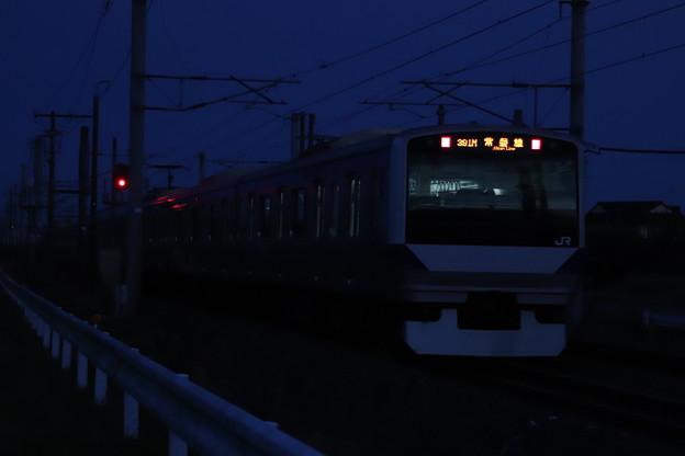 日没後のE531系 2019.11.17