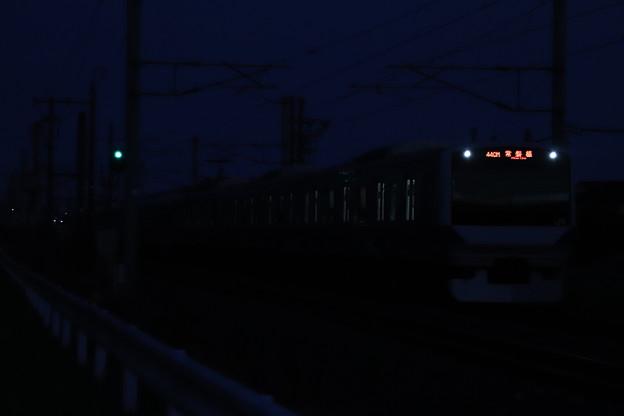 Photos: 日没後のE531系 2019.11.17