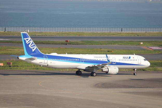 全日空 ANA A321-200N JA111A