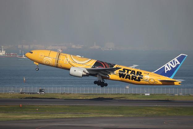 全日空 ANA B777-200ER JA743A スターウォーズジェット