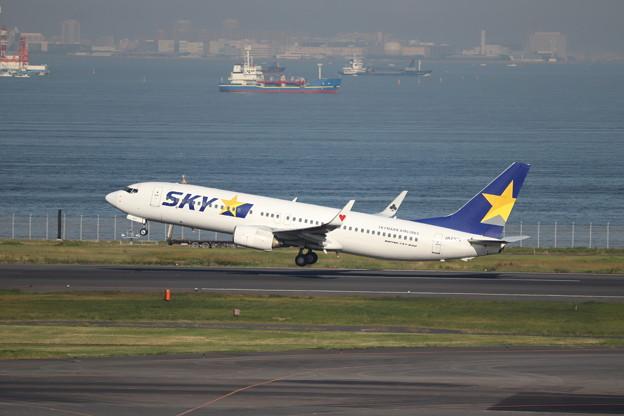 スカイマーク SKY B737-800 JA737T (1)