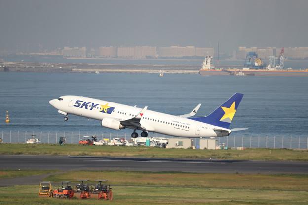 スカイマーク SKY B737-800 JA737T (2)