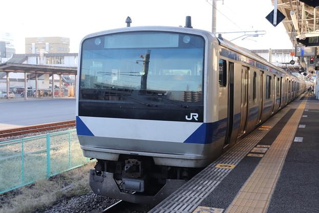 常磐線 E531系K418編成 346M 普通 上野 行 2019.11.30