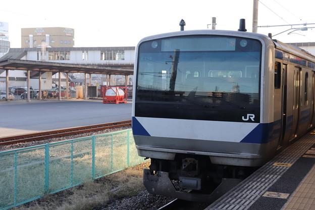 常磐線 E531系K418編成 346M 普通 上野 行 2019.11.30 (1)