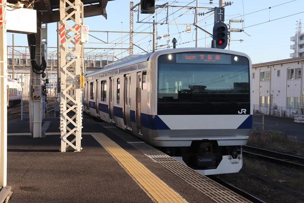 常磐線 E531系K478編成 346M 普通 上野 行 2019.11.30