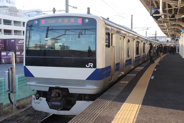 常磐線 E531系K478編成 346M 普通 上野 行 2019.11.30 (1)