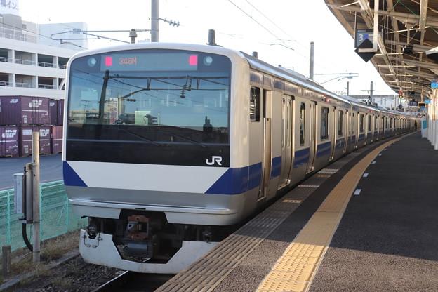 常磐線 E531系K478編成 346M 普通 上野 行 2019.11.30 (2)