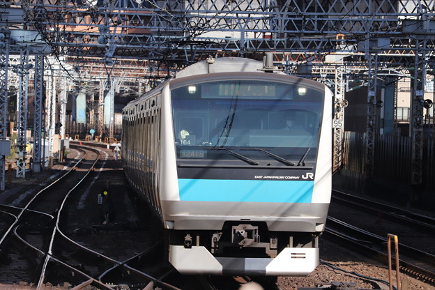 Photos: 京浜東北線 E233系1000番台サイ164編成 (1)