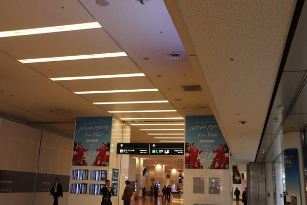 羽田空港第二ターミナル 内部