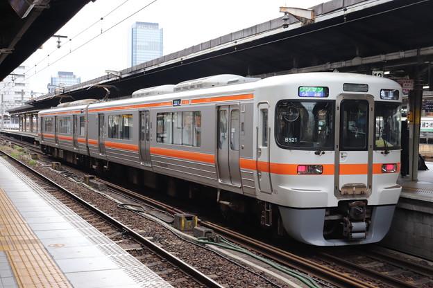 関西本線 313系1300番台B521編成